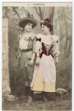 CPA -69-  Charme - couple - Amour courtois - Rompons.