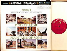 RCA WHITE DOG (TAS) Respighi REINER Pines of Rome/Fountains of Rome LSC-2436