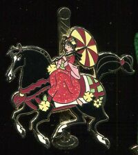 Princess Carousel Reveal Conceal Mystery Mulan Disney Pin 95104