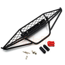 Xtra Speed Metal Mesh Wired Front Bumper Black Axial SCX10 RC Car #XS-SCX22406
