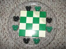 Disney Mickey Mouse Head Icon Checkers Game New in Package