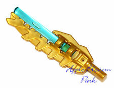 NEW Lego Chima Gold VENGIOUS BLADE Minifig Sword Chi Weapon w/Trans Blue