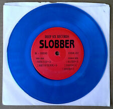 "SLOBBER - MALATHION, WAITING TO DIE + 4 - DEEP SIX - 7"" EP - BLUE VINYL"