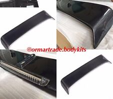AMG BRABUS Style REAR SPOILER Carbon Fibre w Stop Signal W463 G500 G55 G63 G65
