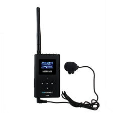 Mini Handheld 0.3W FM Transmitter MP3 Broadcast Radio Transmitter for Meeting