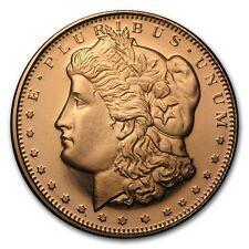 20x 0,5 1/2 pouces 999 Cuivre Médaille Pièce de monnaie Dollar De Morgan New USA