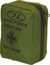 New Pro-force Military Mini First Aid Kit Mini Pack Olive Green First Aid Kit