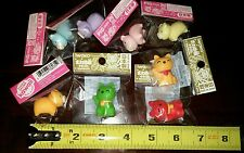 Japanese IWAKO Eraser Maneki Neko & Piggy 8pcs Set