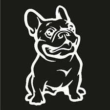 2016 Strong Adhesive 3d Stickers French Bulldog Dog Car Sticker Vinyl Cars Decal