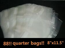 "8""x11.5""Quarter Bags 88 for use in all universal FOODSAVER &other Vacuum Sealers"
