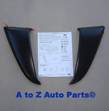 NEW 2010-2013 Ford Mustang Driver and Passenger SIDE SCOOPS, Set of 2 OEM Ford