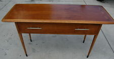 Vintage Lane Acclaim Console Table, mid century dovetail oak and walnut, ca.1961