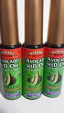 3 X MASCARA AVOCADO SEED OIL FOR EYELASHES 0.45 OZ EACH (PACK OF 3) NEW