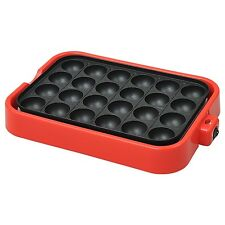 Electric Takoyaki Pan Pancake Puffs - 24 molds