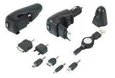 Chargeur Téléphone 3 en 1 : 220V (60Hz) - Allume Cigare (12-24V) - Port USB