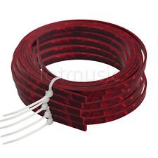 5*Celluloid Acoustic Guitar Binding Purfling Strip 5mm x 1.5mm Red Pearl