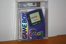 Nintendo Game Boy Color Grape Launch Console - NEW SEALED HOLOFOIL MINT VGA 85+!