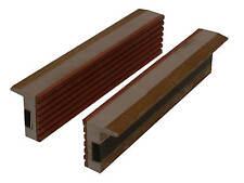 2 Stück Magnet Schraubstock Schutzbacken Aluminium Backen 150 mm Spannbacken BGS