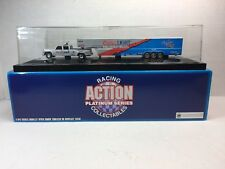 ACTION KYLE PETTY COORS LIGHT 1/64 DUALLY WITH TRAILER 1 of 4008 NASCAR RACING