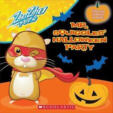 Mr. Squiggles's Halloween Party (Zhu Zhu Pets), Scholastic, Good Book