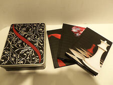 The Twilight Saga 3 Hardcover Book Journal Diary Set w Decorative Collectors Tin