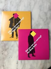 "PET SHOP BOYS ""DID YOU SEE ME COMING?"" UK 2-CD SINGLE (DOUBLE CD SINGLE) NEW"