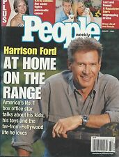 People magazine Harrison Ford Katie Couric Jerry Orbach Hugh Jackman Bart Conner