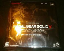 METAL GEAR SOLID V GROUND ZEROES PS3 PREMIUM PACKAGE FACTORY SEALED