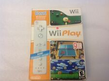Wii Play Bundle w/ Bonus Wii Remote - Nintendo Wii Game