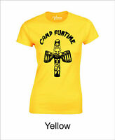 CAMP FUNTIME - Women's T-shirt Debra Harry Blondie 70's Punk Music BNWT