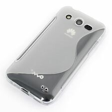 Silikon Case Huawei Mercury Honor U8860 Schutz-hülle Handy-tasche transparent