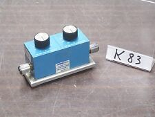 MIDWEST MICROWAVE 1044 ATTENUATOR ATTENUATEUR 0 to 60 dB DC to 4GHz *K83