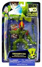 BEN 10 Alien Force Swampfire 6 Inch Bandai New Factory Sealed 2008
