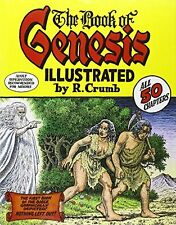 The Book of Genesis Illustrated by R. Crumb by R. Crumb, (Hardcover), W. W. Nort