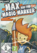 PC CD-ROM + Max and the Magic Marker + Jump'n Run + Spiel in Deutsch + Abenteuer