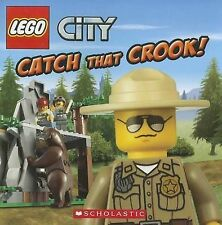 LEGO CITY CATCH THAT CROOK Childrens Picture Reading Story Book  Michael Steel
