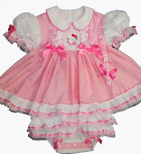 Adult BAby Sissy Pink Hello Kitty Ballerina ~ BUNDLE ME UP BABY Onesie Dress Set