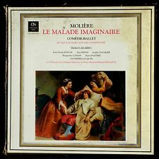 Molière Le Malade imaginaire Douatte, Galabru, Bedos, Pacôme 3 LP NM, BX VG++