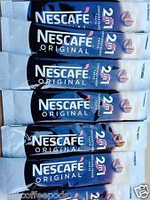 120 x Nescafe Original 2 in 1 Individual 1 Cup Instant Coffee Sachets Sticks