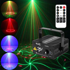 2016 LED Stage Lighting 24 Gobos RG Laser Projector Disco Party Club DJ Light UK