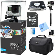 GoPro HERO 4 Black - 4K Action Camera All Inclusive Bundle