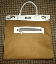 Vintage MARCUS BROTHERS of MIAMI Cotton Canvas Kelly Tote Bag~Made in Japan