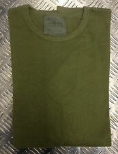 Genuine British Army Olive Thermal Long Sleeve Top Size S/M 92-99cms Chest - NEW
