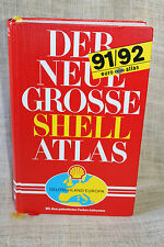 Der Neue Grosse Shell Atlas Deutschland Europa Mair German Atlas Europe Germany