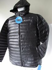 COLUMBIA Mens Flash Forward Down Hooded Jacket-650 Fill Power Down Insulation L