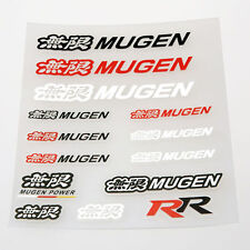 Honda Mugen sticker Set PVC Vinyl Decal HIGH QUALITY