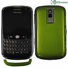 NEW BLACKBERRY BOLD 9000 1GB CUSTOMISED LIME GREEN BACK FACTORY UNLOCKED SIMFREE