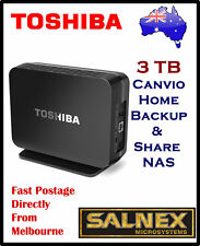 Toshiba 3TB  Canvio Home Backup & Share NAS (back up your Phone,Tab ,PC, MAC)
