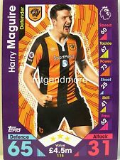 Match Attax 2016/17 Premier League - #115 Harry Maguire - Hull City