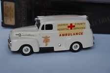 BROOKLIN BRK 42 1952 FORD AMBULANCE JASPER COUNTY 1/43